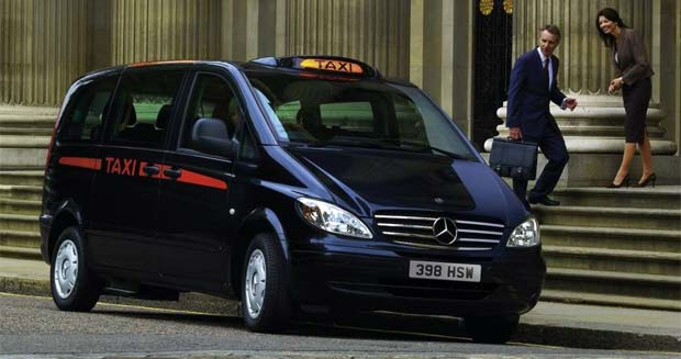 Mercedes Vito Electric Taxi Launched In London