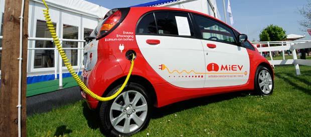 Mitsubishi Revises i-MiEV Electric Car