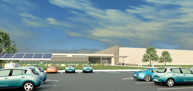 nissan breaks ground on smyrna battery plant. Black Bedroom Furniture Sets. Home Design Ideas