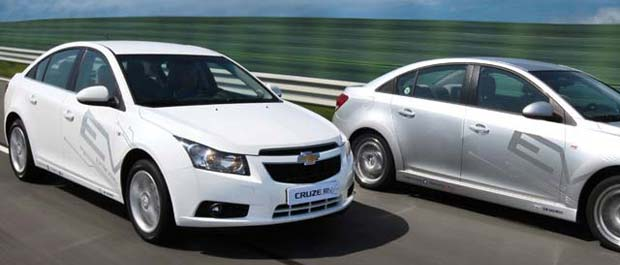 Gm to test electric cruze in korea for General motors annual report 2010