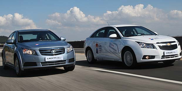GM to Provide Cruze/tti EVs to G20 Summit