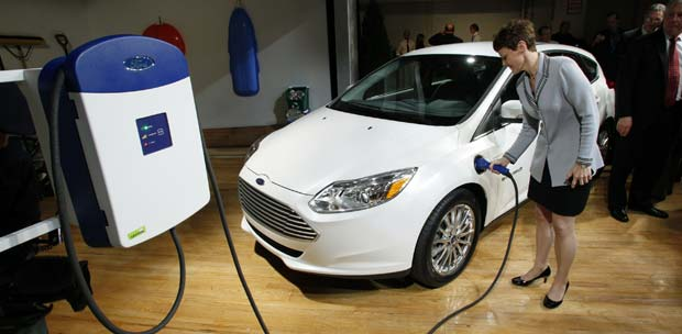 Ford Developed Home Charging Station For The Focus Electric With Leviton