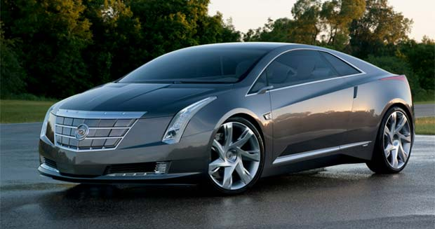 General Motors Confirmed That It Is Going To Green Light A Cadillac Extended Range Electric Car Based On The Converj Concept First Shown At 2009 Detroit