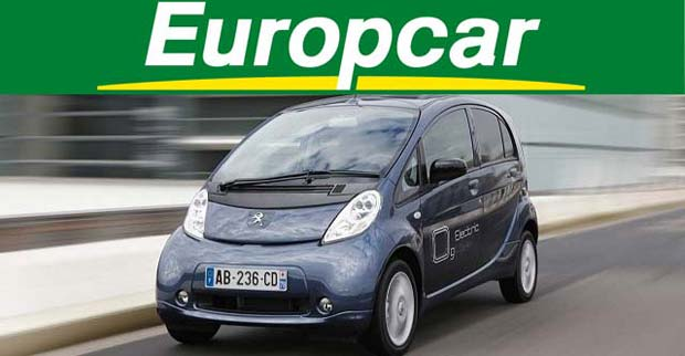Europcar Adds Peugeot Ion Electric Car To Its Uk Fleet