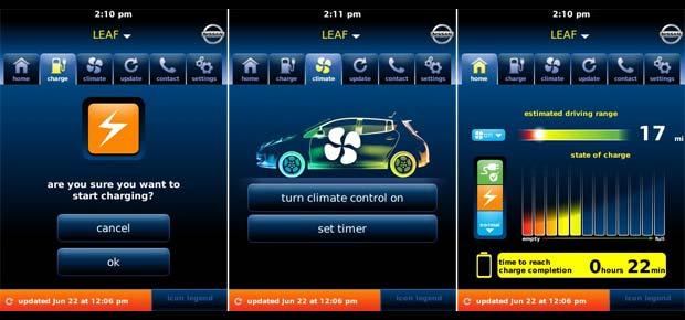 Nissan Leaf Gets Blackberry Android Apps