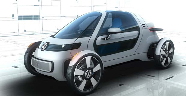 Volkswagen Nils An One Seat Electric Concept Vehicle That Offers A Glimpse Of New Form Minimalist Mobility Has Been Unveiled Ahead Its Public