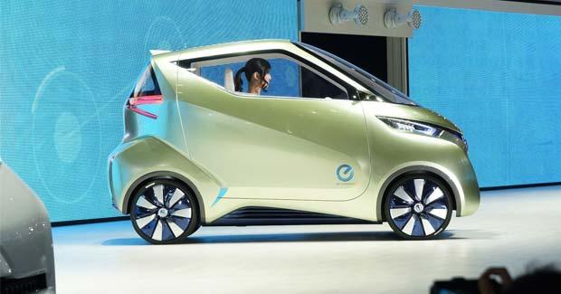 Nissan Unveils Pivo 3 Ev Concept At Tokyo Motor Show
