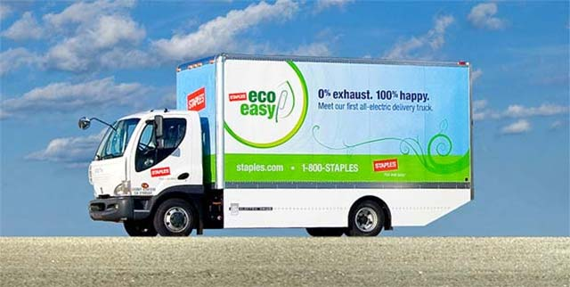 Staples-Electric-Truck