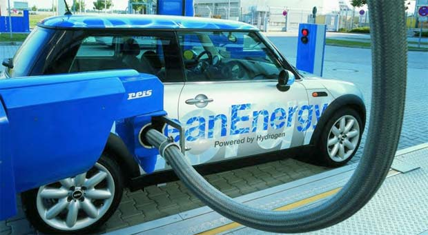 hydrogen as a possible source of fuel