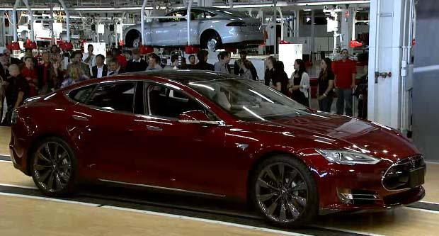 Tesla Model S Launches Today - 2013 tesla model s base