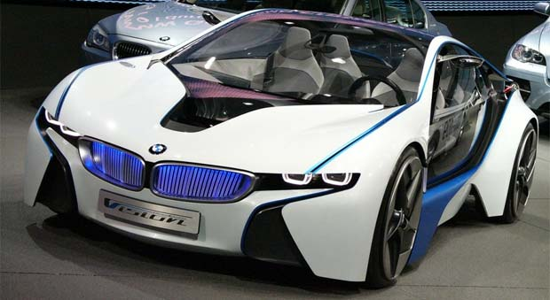The Bmw I8 Plug In Hybrid Sportscar Will Cost More Than 100 000 125 700 When It Goes On End Of 2017