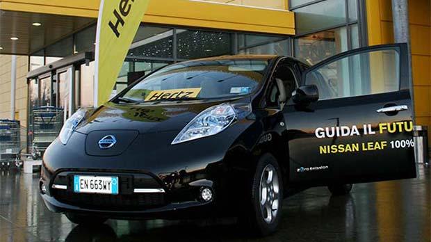 Nissan-Leaf-Hertz-Milan