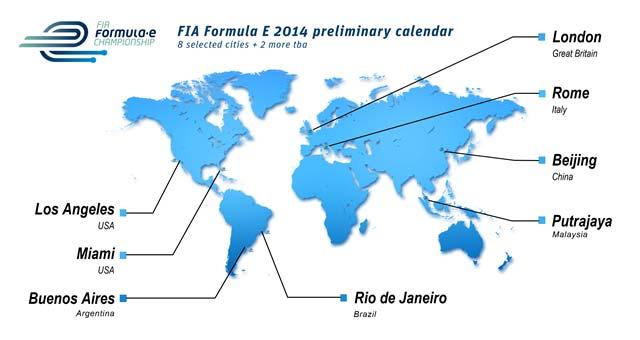 Formula-E-Calendar