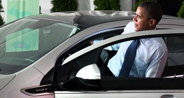 Obama-Chevrolet-Volt