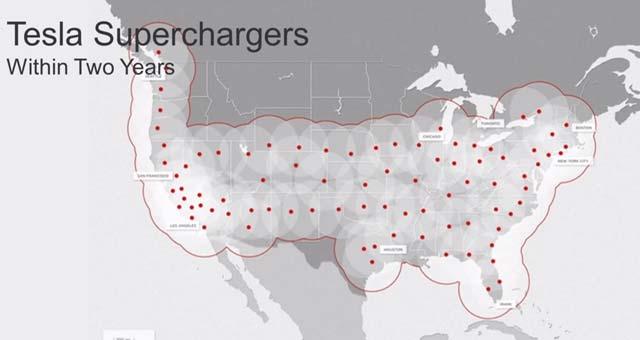 Tesla-Supercharger-Network