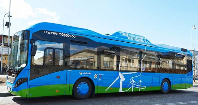 Volvo-Electric-Bus