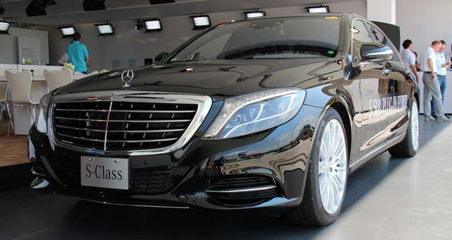 2014 Mercedes Benz S500 Plug In Hybrid Revealed