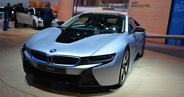 Bmw I8 The Sports Car Of The Future