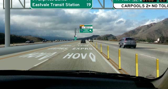 HOV-Lane