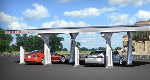 Tesla Officially Opens West Coast Supercharger Corridor