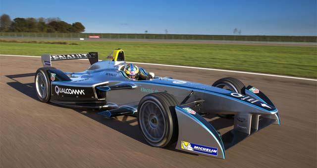 Formula-E-Car