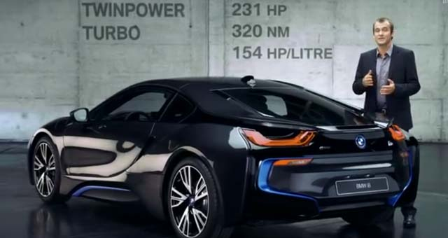Video Bmw I8 Performance In Detail