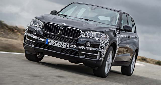 BMW-X5-eDrive-Plug-in-Hybrid-Prototype