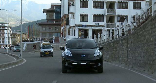 Nissan-LEAF-Bhutan