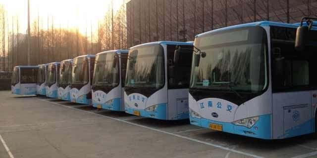BYD-Electric-Buses-Nanjing-China