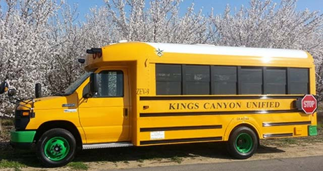 California Launches America 39 S First All Electric School Bus