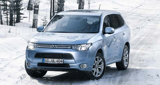 outlander phev completes 8 weeks of cold testing in russia