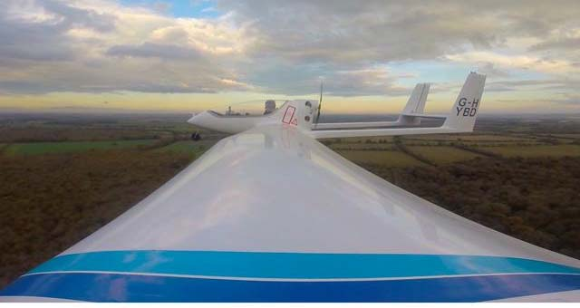 Hybrid-Electric-Plane