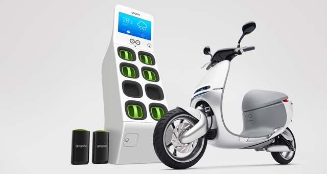 Gogoro-Smartscooter