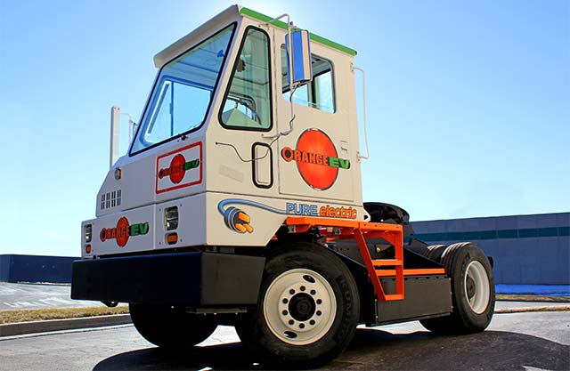 Orange-EV-Truck