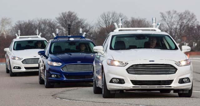 autonomous-Ford-Fusion-Hybrid
