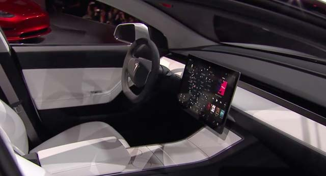 tesla model 3 officially unveiled w videos. Black Bedroom Furniture Sets. Home Design Ideas