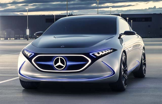 Mercedes benz to make electric vehicles in china for Mercedes benz concept electric car